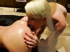 Bizarre enema milk dykes squirt milk