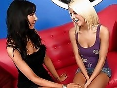 Sweet Blonde Babysitter Seduced By Swinger Couple