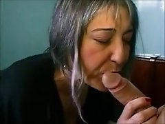 French Pierced granny analyzed by the plumber