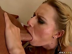 Stunning Anal Blonde Riley Evans Gets Fucked and Covered In Thick Cum