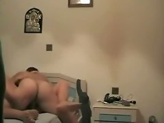 Kinky guest fucks slim dark haired cutie in hotel room hard