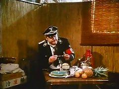 Freaky German officer makes fun watching kinky prisoners fucking