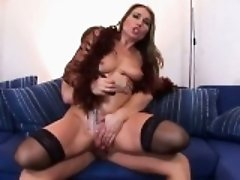 Pussy pump and anal fucking for housewife
